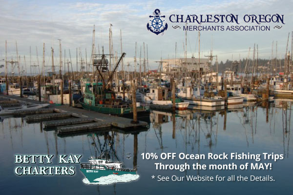 Customer Appreciation Day is May 19th in Charleston Oregon!